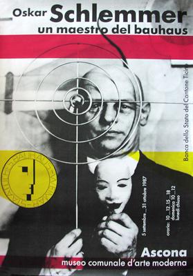 Huber, Max. Oskar Schlemmer Un Maestro del Bauhaus.1987