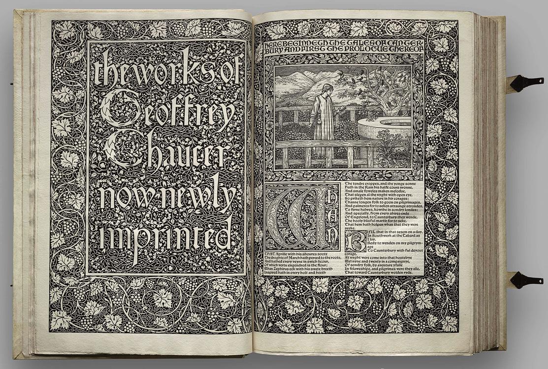 Kelmscott Chaucer 2
