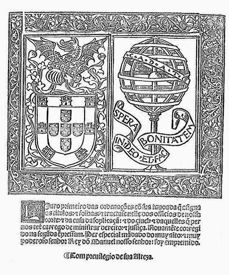 Ordenações do reino, impressão de Valentim Fernandes