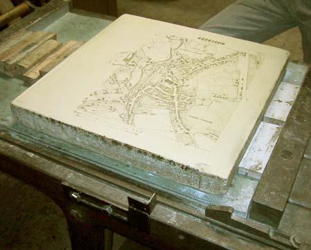 pedra litográfica
